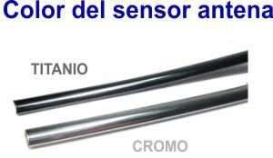 Color del sensor antena