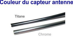 Couleur du capteur antenne