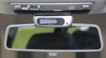 display sensori di parcheggio specchietto