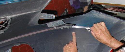 sensori di parcheggio senza fori